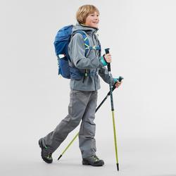 Wandelbroek voor kinderen MH500 grijs 7- 15 jaar