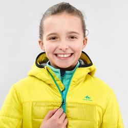 Doudoune de randonnée enfant MH500 jaune 7- 15 ans