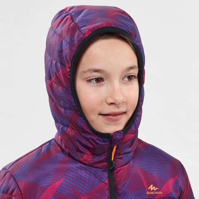 Gewatteerde kinderjas MH500 paars 7-15 jaar