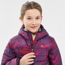 Doudoune de randonnée enfant MH500 violet 7- 15 ans