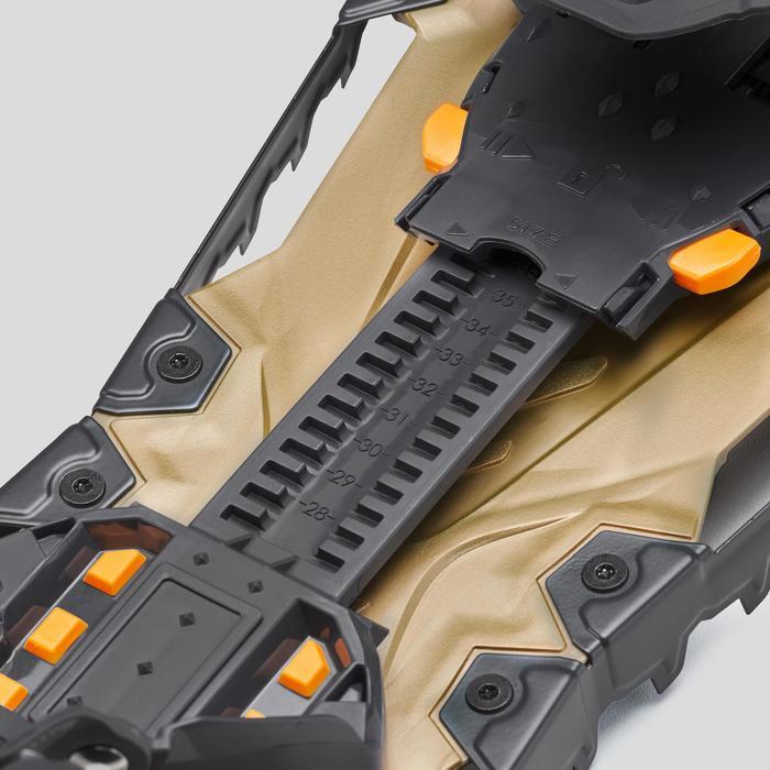 Sneeuwschoenen klein frame TSL highlander adjust groen