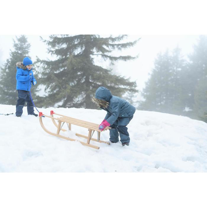 Warme wandeljas voor de sneeuw jongens SH500 U-warm 2-6 jaar blauw