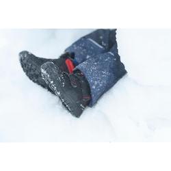 Winterschuhe halbhoch SH100 Warm Klett Kleinkinder Gr. 24-32 schwarz