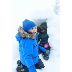 Winterjacke Winterwandern SH500 U-Warm Jungen 92–116cm blau