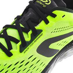 Hardloopschoenen voor heren Kiprun KS Light zwart/geel