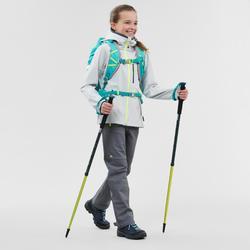 Softshellhose Wandern MH550 Kinder 123-166cm grau