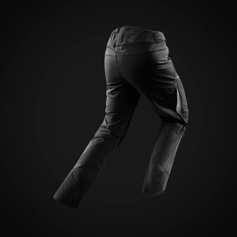 Pantalon de randonnée neige homme SH520 x-warm noir.