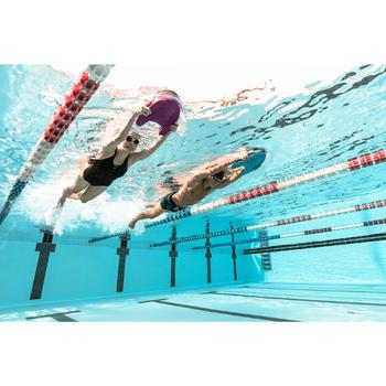 女款單件式連身泳裝Riana + 黑色