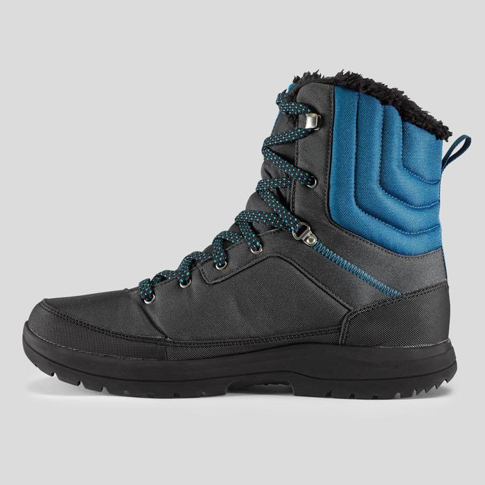 Wandelschoenen voor de sneeuw heren SH100 Warm high grijs/blauw
