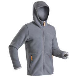 Men's warm hiking fleece jacket - SH100 U-WARM.