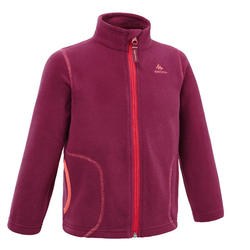 Kids' Hiking and Skiing Fleece Jacket MH150 2-6 Years - Violet