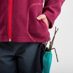 Veste polaire de randonnée et ski - MH150 violette - enfant 2-6 ans
