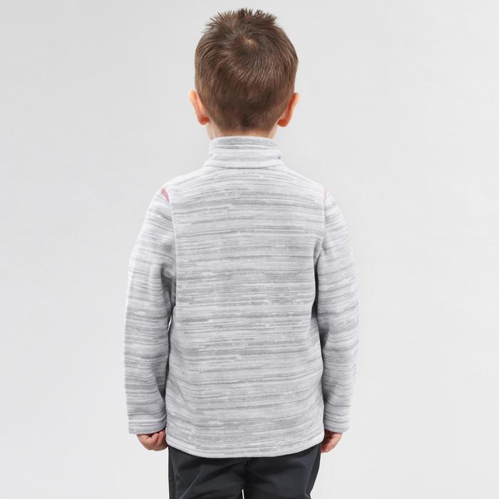 2到6歲兒童款健行刷毛外套MH150-白色