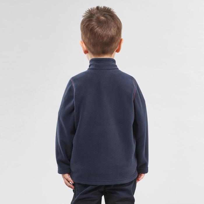 Polaire de randonnée enfant MH150 bleu marine 2-6 ans