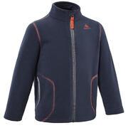Hiking fleece jacket - MH150 - children 2-6 years - Navy blue