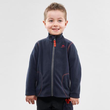 Hiking fleece jacket - MH150 - Navy blue - children 2-6 years