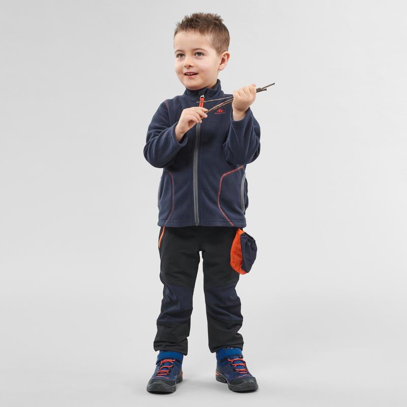 Kid's Mountain Hiking & Ski Fleece Jacket MH150 2-6 Years - Navy Blue