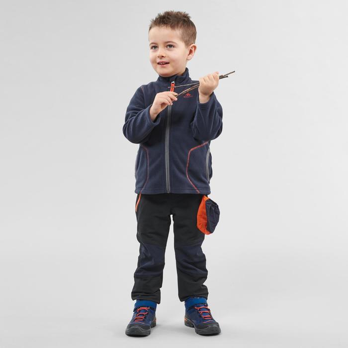 Fleece jas voor skiën en wandelen voor kinderen 2-6 jaar MH150 marineblauw