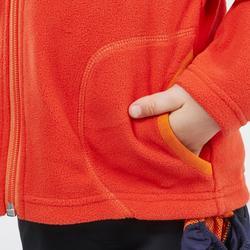Kids' 2-6 Years CN Hiking Fleece MH150 - Red