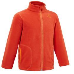2至6歲兒童款健行刷毛衣MH150-紅色
