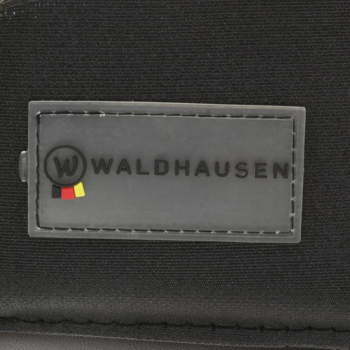 Campanas Equitación Waldhausen Caballo Poni Negro Borde Borrego Abiertas