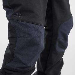 Softshell kinderbroek voor hiking MH500 zwart 2-6 jaar
