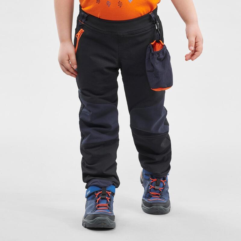 Pantalones Niños de Montaña y Trekking 2-6 Años MH500 Softshell