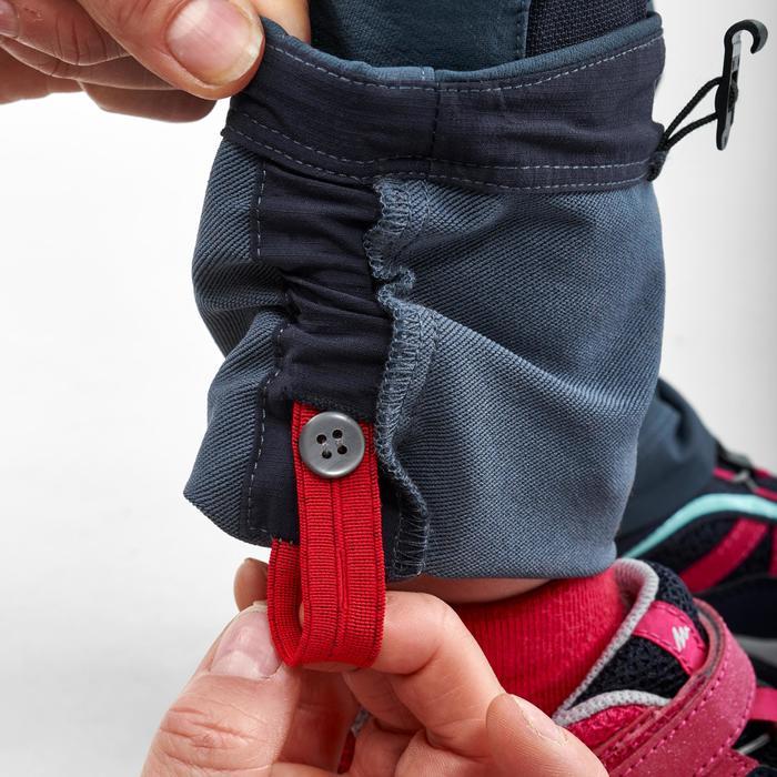 Pantalon softshell de randonnée enfant MH500 gris 2-6 ans