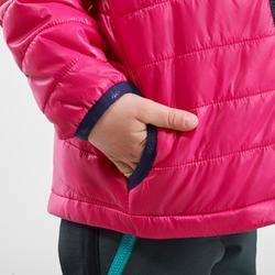 Doudoune de randonnée enfant MH500 rose 2- 6 ans