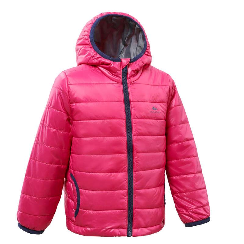 PILE, PIUMINI, PANTALONI BAMBINA 2-6 ANNI Sport di Montagna - Piumino bambina MH500 rosa QUECHUA - Trekking bambino