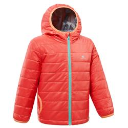 Kids' Padded Hiking Jacket MH500 CN 2-6 Years Pink