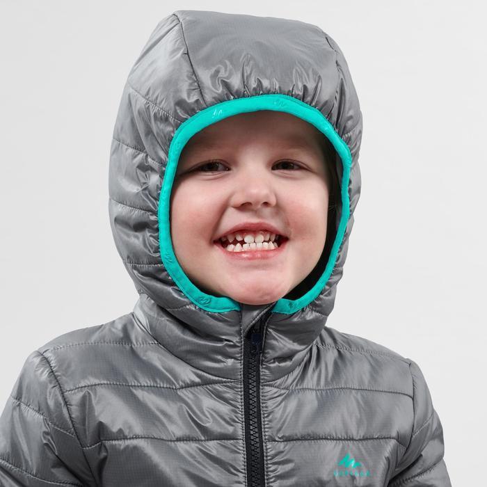 Doudoune de randonnée - MH500 grise - enfant - 2- 6 ans