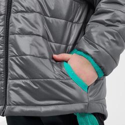 Doudoune de randonnée enfant MH500 grise 2- 6 ans