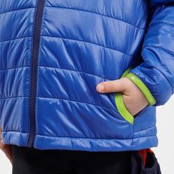 Gewatteerde wandeljas voor kinderen MH500 blauw 2-6 jaar
