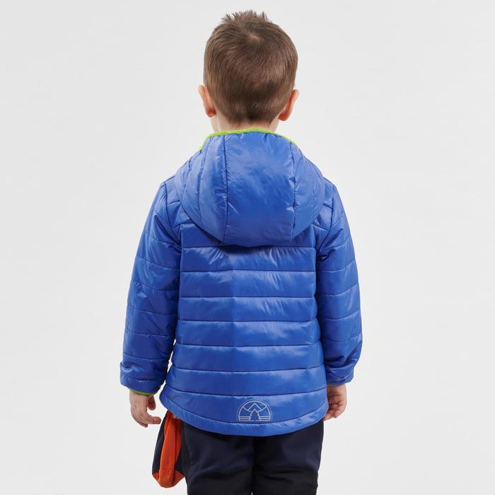 Wattierte Jacke Wandern MH500 Kleinkinder 89–121cm blau