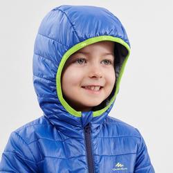 Doudoune de randonnée - MH500 bleue - enfant 2 - 6 ans