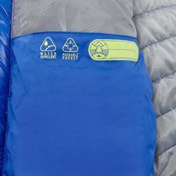 Gewatteerde wandeljas voor kinderen 2-6 jaar MH500 blauw