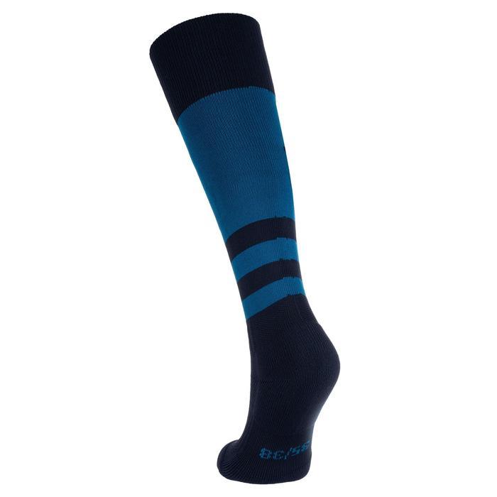 Medias rugby júnior R500 azul