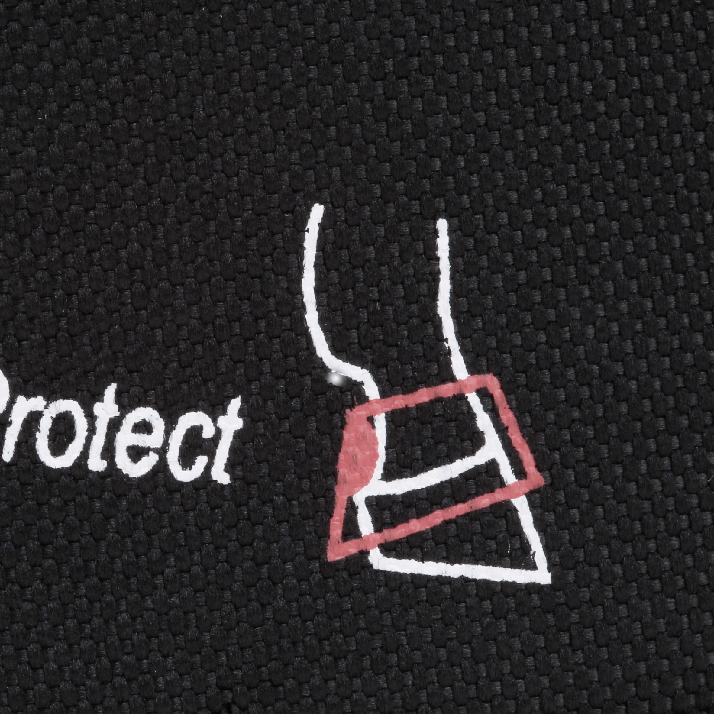 2 cloches équitation cheval et poney OPTIMUM PROTECT noires