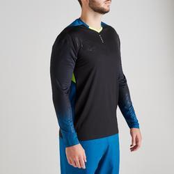 Keepersshirt F500 zwart/blauw