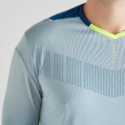 Keepersshirt F500 grijs/blauw