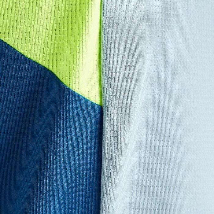 Camiseta Portero Manga Corta Fútbol Kipsta FGKSLS500 Adulto Gris