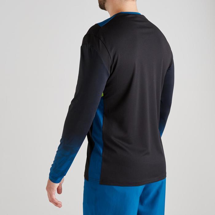 Camiseta Portero Manga Corta Fútbol Kipsta FGKSLS500 Adulto Negro