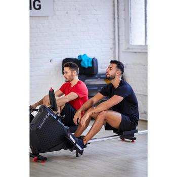 Fitnessschuhe Fitness Cardio 100 Herren schwarz