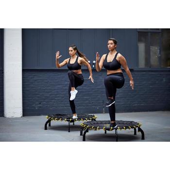 Legging voor cardiofitness dames 900 zwart