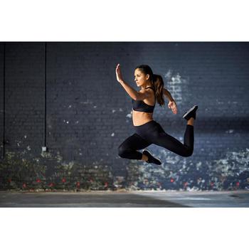 Fitnessschuhe 900 Fitness Cardio Damen schwarz
