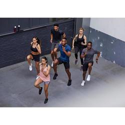 Sporthose kurz 2-in-1 FST 900 Fitness Cardio Damen Print