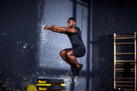 shot de fitness pour homme