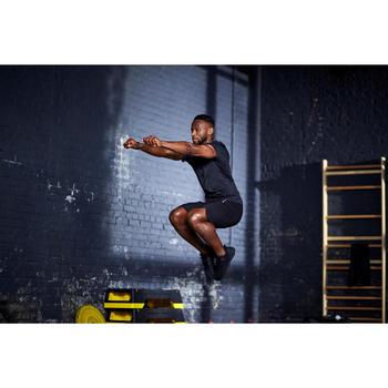 Fitnessschuhe Fitness Cardio 920 Mid Herren schwarz