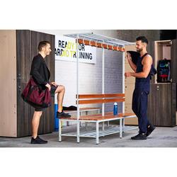Sportschuhe Fitness Cardio 920 Mid Herren schwarz